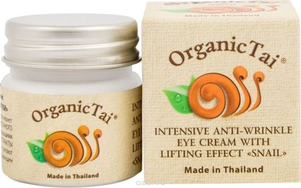 Антивозрастной лифтинг-крем для лица Organic Tai Интенсивный с экстрактом улитки