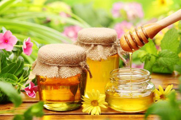 Баночки с мёдом
