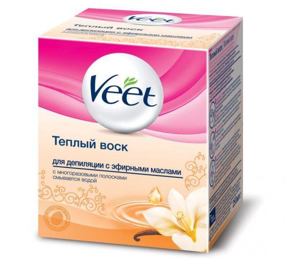 тёплый воск для депиляции от Veet