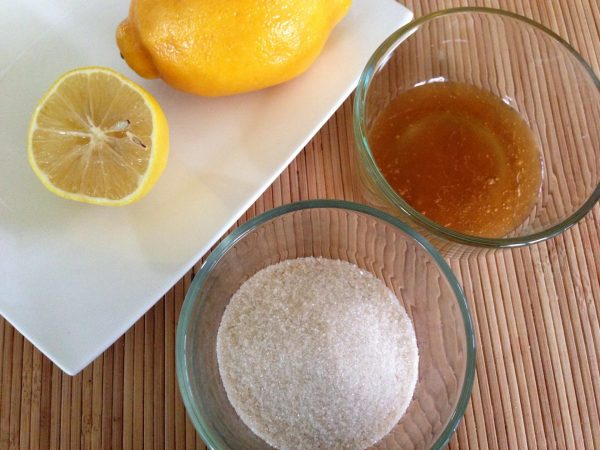 Ингредиенты для пасты с мёдом