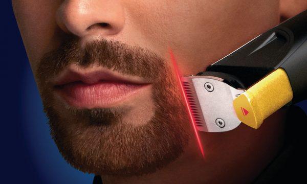 Система лазерного наведения у мужского триммера