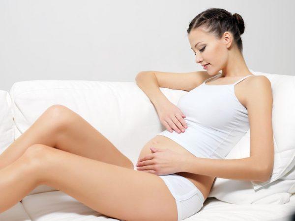 Беременная жещина