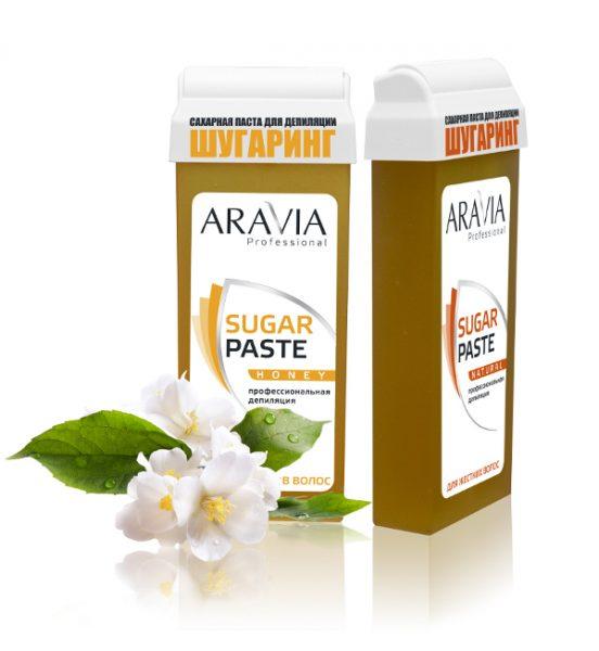 Картридж с сахарной пастой от Aravia