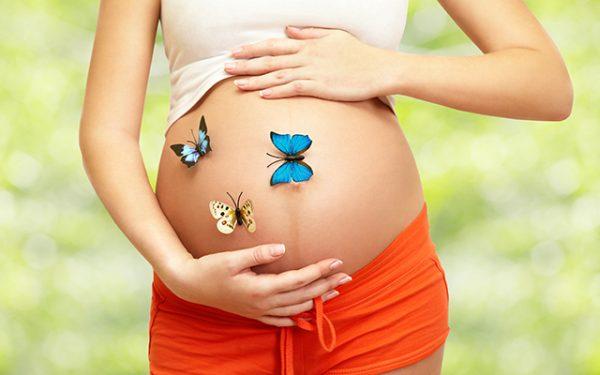 Живот беременной