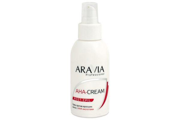 Aravia крем против вросших волос с AHA-кислотами