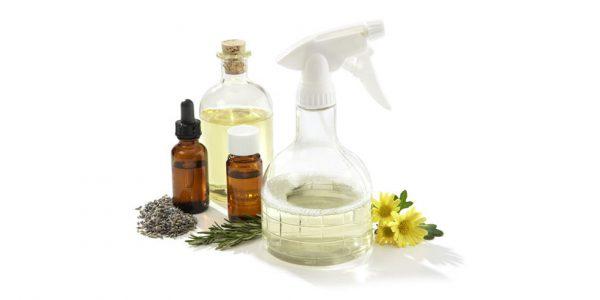 Ингредиенты для очищающего спрея