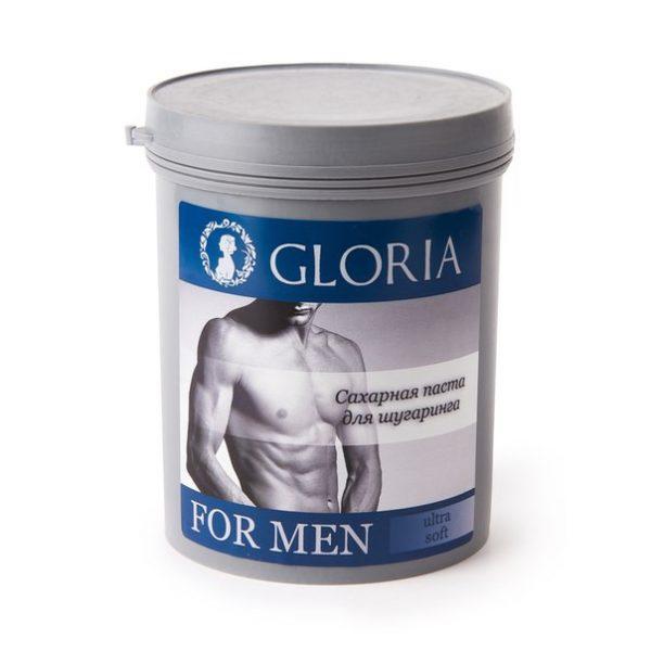Сахарная паста для мужской депиляции Gloria for Men Ultra Soft