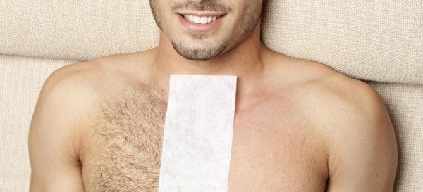 Восковые полоски для мужской депиляции