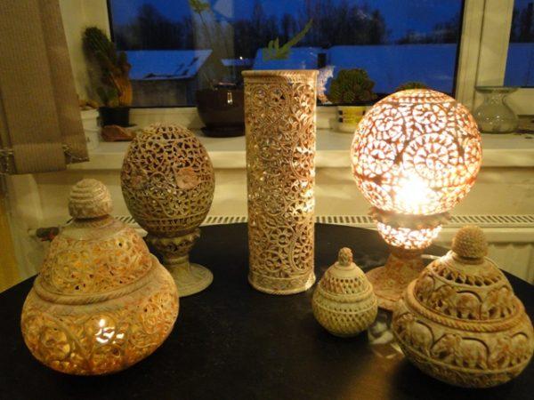 Каменные аромалампы
