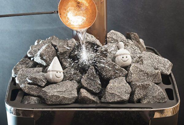 Раскалённые камни в бане
