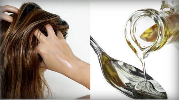 Волосы и масло