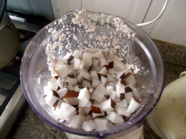 Как сделать кокосовое масло, шаг 4