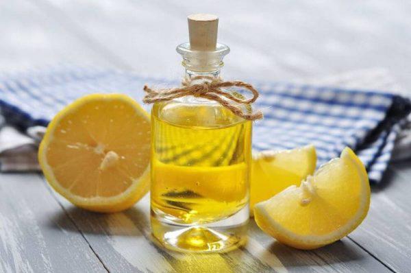 Касторовое масло и лимон