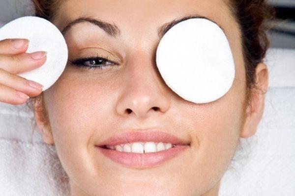 компресс для области вокруг глаз