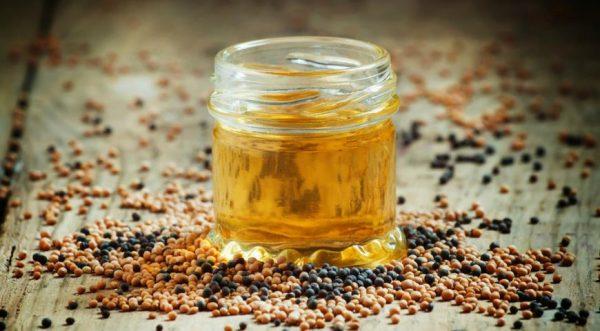 коричневое горчичное масло
