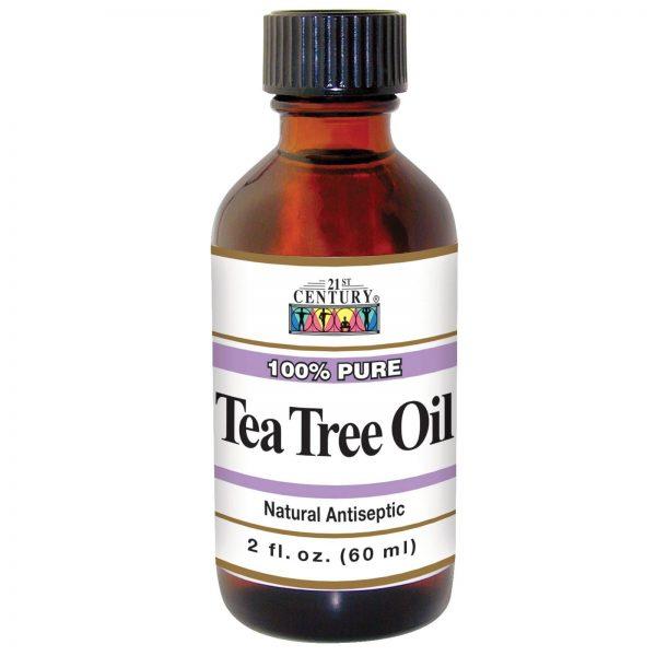 Флакон с маслом чайного дерева