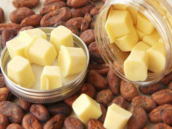 Масло и какао-бобы