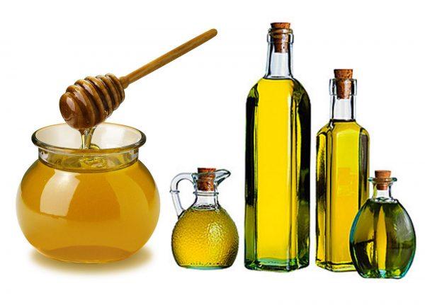 Мёд и льняное масло