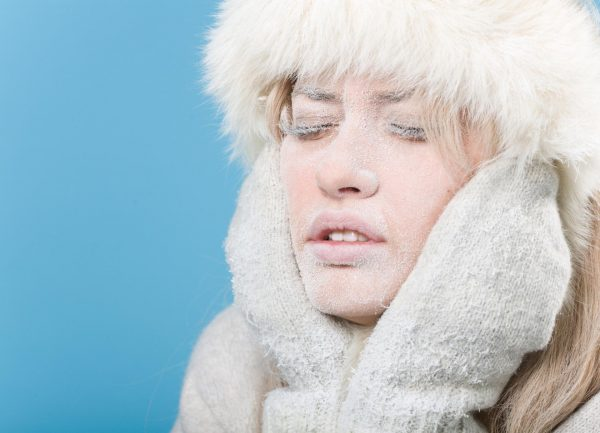 Страдания кожи зимой