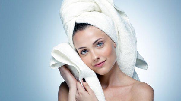 Утепление волос полотенцем