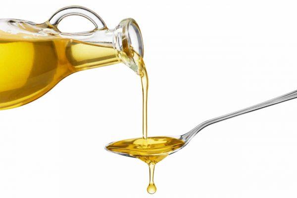 растительное масло в чайной ложке