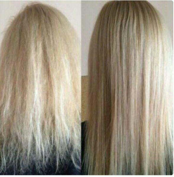 фото до и после курса масляных обёртываний