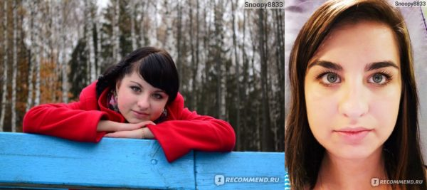 Фото до и после применения репейного масла