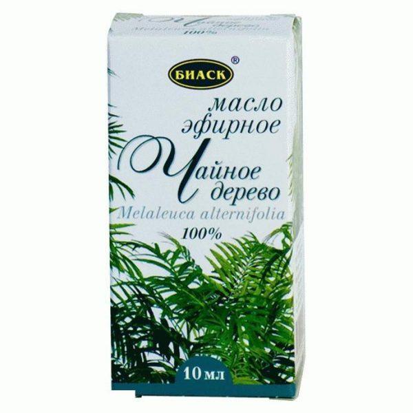 Масло чайного дерева в картонной упаковке