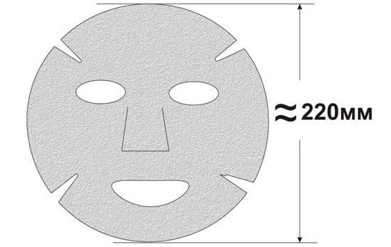 Рисунок для изготовления марлевой маски