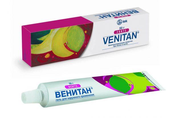 Гель Венитан в упаковке