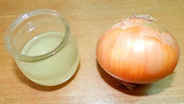 Луковица и сок