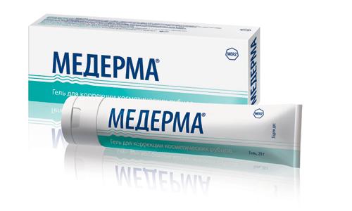 Гель Медерма