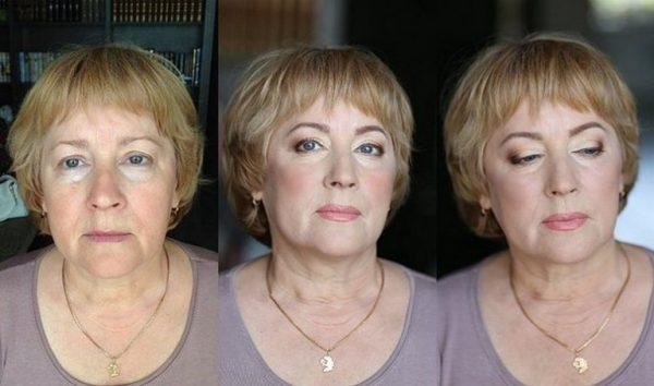 Омолаживающий макияж после 50 лет