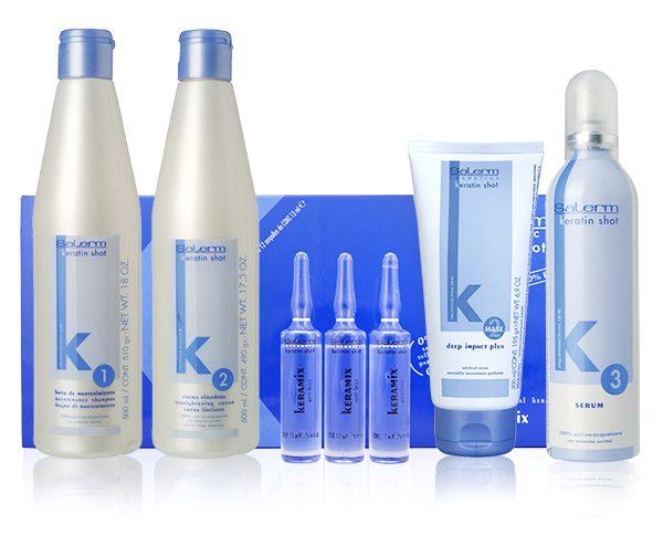 Линия средств Keratin Shot от Salerm Cosmetics
