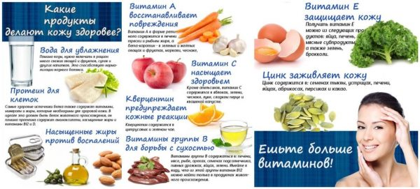 Продукты, помогающие сохранить эластичность кожи