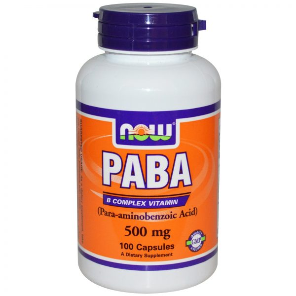 PABA от Now Foods