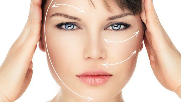 Линии разглаживания морщин и подтяжки лица