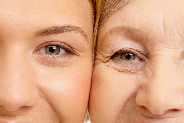 Процесс старения кожи