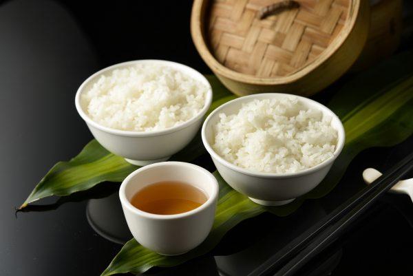 Рис и зеленый чай