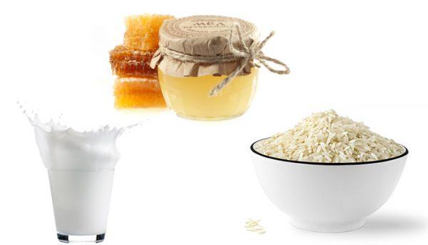 Рис, молоко и мёд