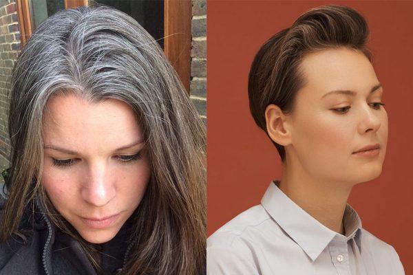 Окрашивание волос после предпигментации