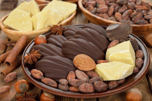 Бобы и масло какао