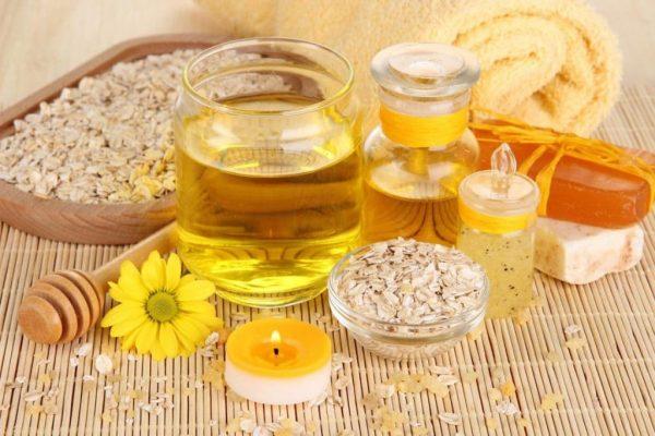 Мёд, масло и овсянка