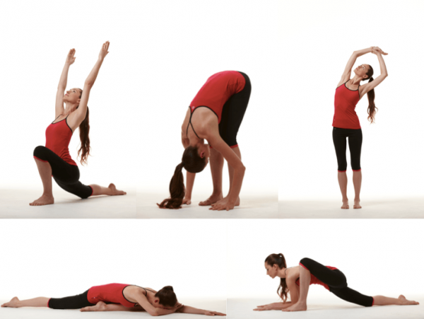 Растяжка упражнения