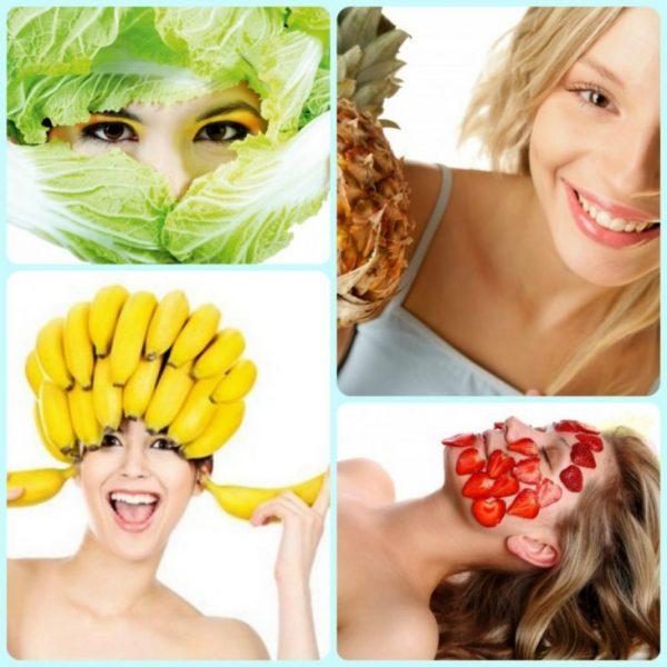 Фрукты как ингредиенты масок для улучшения цвета лица