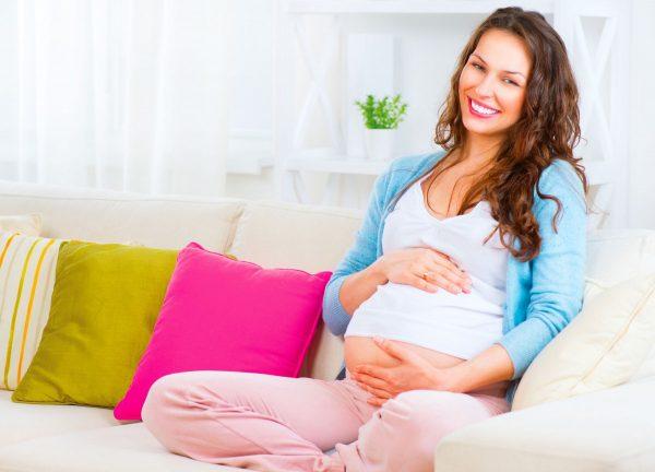 Беременная женщина
