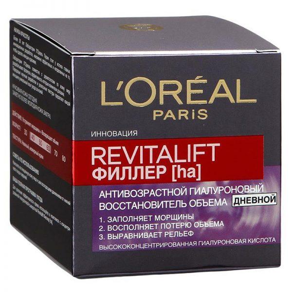 Дневной крем «Revitalift филлер (ha)» от L'Oreal