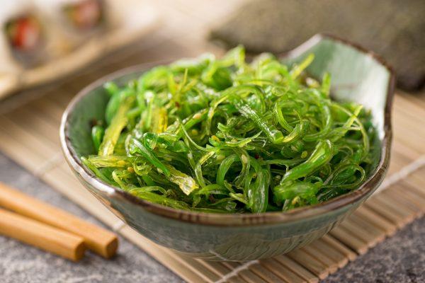 Салат из ламинарии