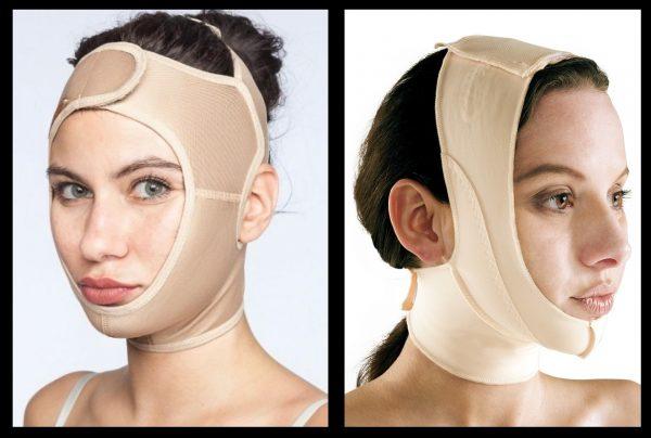 Компрессионный бандаж (повязка) для лица